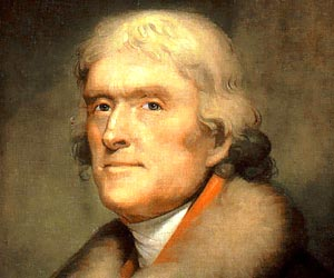 Thomas Jefferson early life